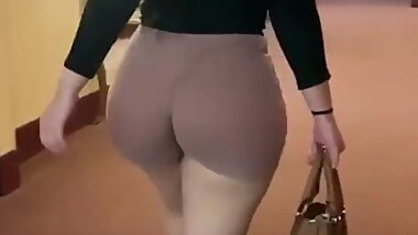 Candid White Ass