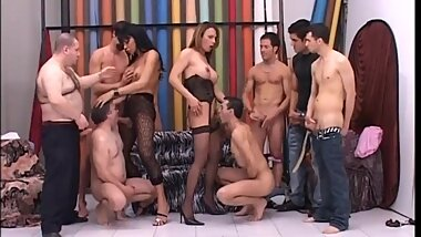 Trans Italia Gang-Bang - (FULL MOVIE - ORIGINAL VERSION)