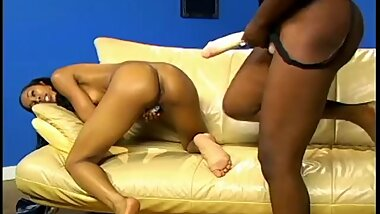 Black Feet On Booty Street 2 - Scene 2