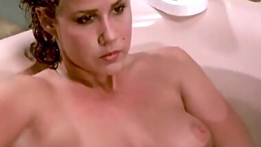 Retro Linda Blair Bath And Shower Topless Scenes