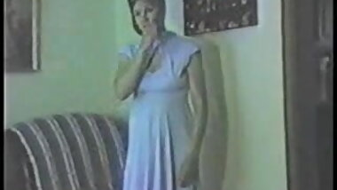 Vintage Wife Donna Blue Dress Striptease