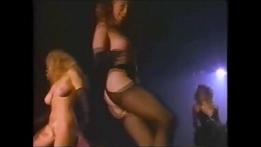 80s and 90s softcore sex comedy dance, silly nudity scenes
