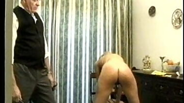 Two vintage spanking stories. Nude girls disciplined